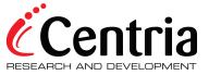 Logo Centria R&D, Finland.