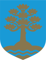 Coat of Arms of the Municipality of Elva, Estonia.