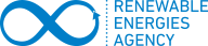 Logo Renewable Energies Agency, Germany.
