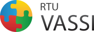 Logo of Riga Technical University, Latvia.