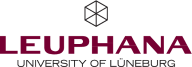 Logo Leuphana University Lüneburg, Germany.